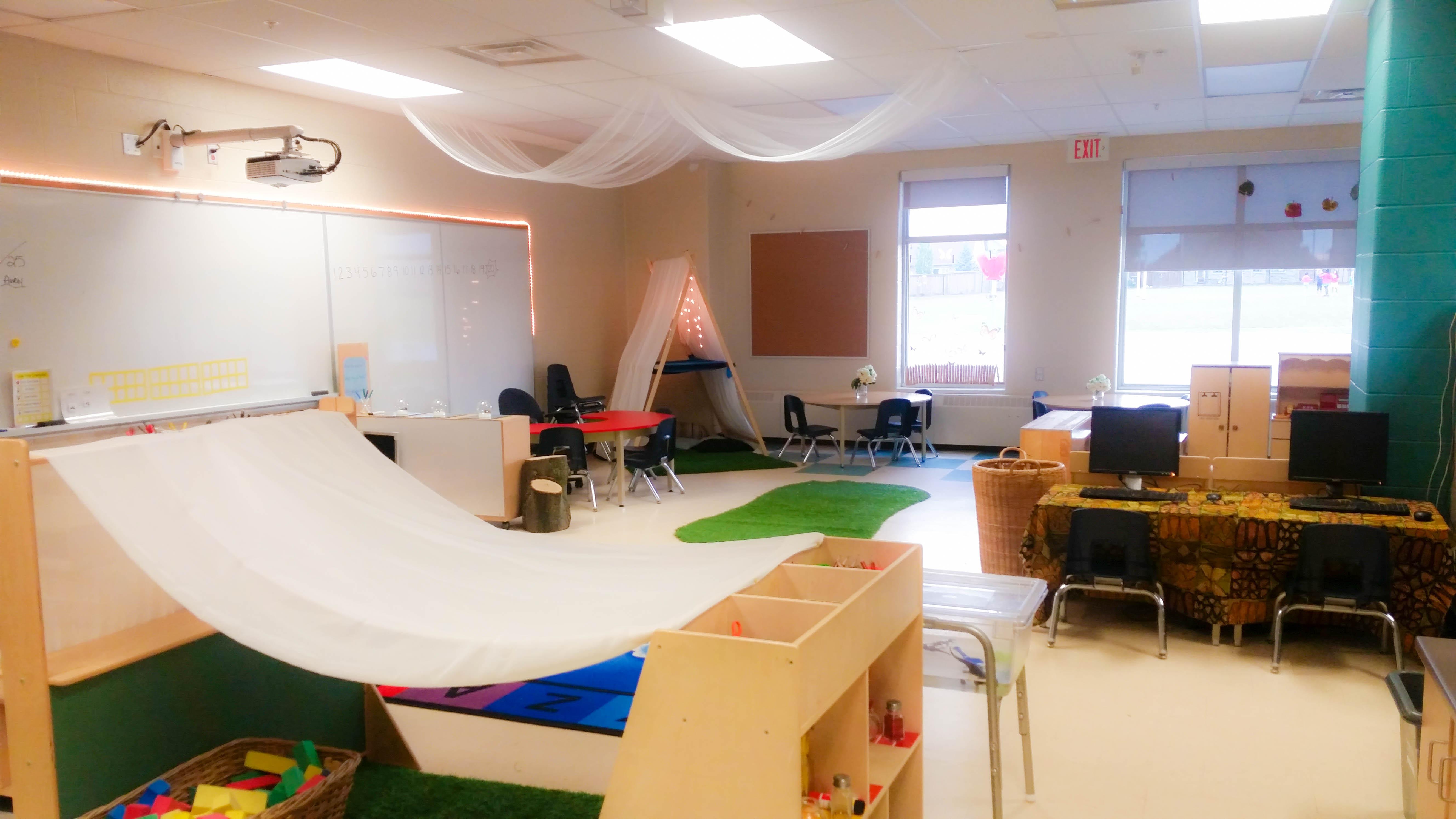 Minimalist Preschool Classroom ~